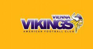 AFC Vienna Vikings Logo yellow