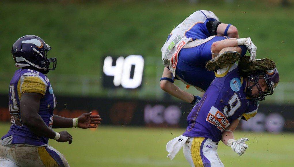 Vikings vs Giants © Nutville