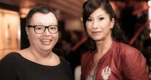 Dr. Sabine Oberhauser mit Kiki Klepsch