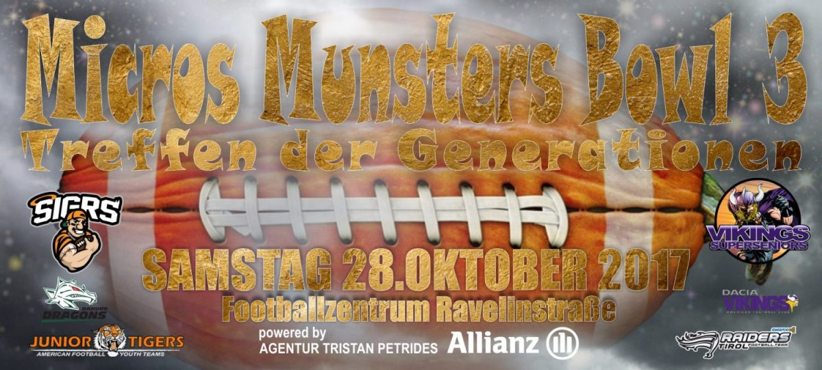 Micros Munsters Bowl 3 – powered by Allianz Agentur Tristan Petrides ...