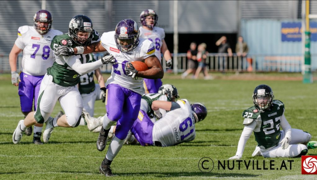 Vienna Vikings @ Danube Dragons © nutville.at | 8.4.2018