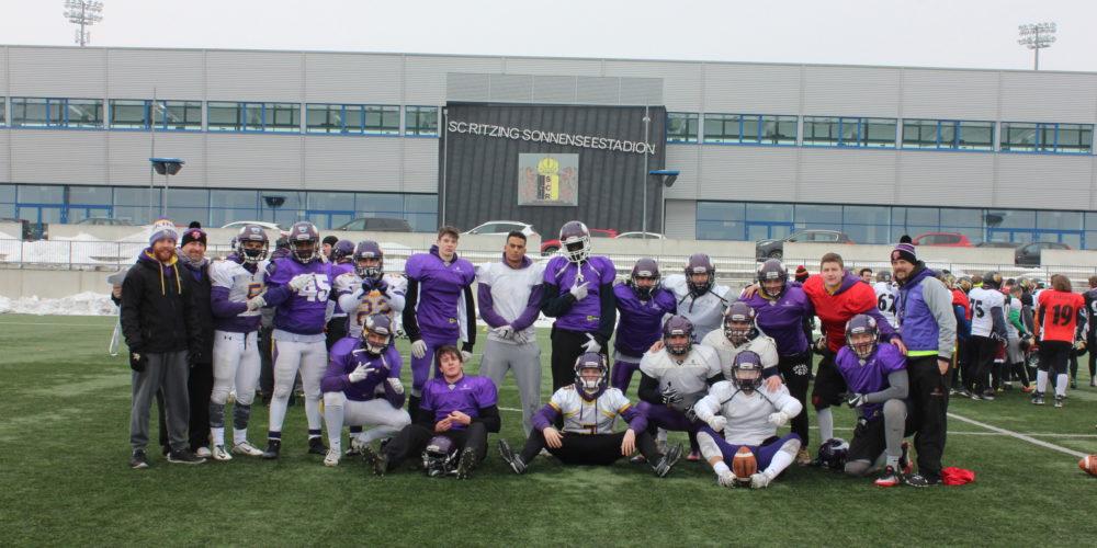 Footballer der Academy beim Camp des AFL Teams