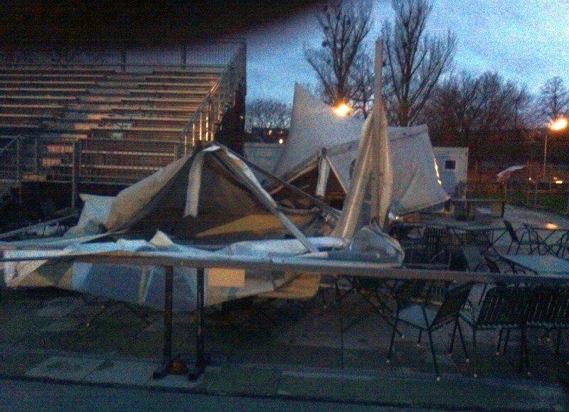 Sturmschäden Ravelin 12.1.2015