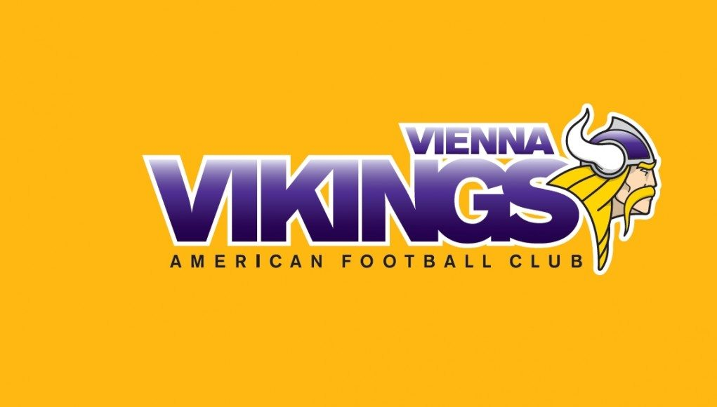 AFC Vienna Vikings Logo yellow