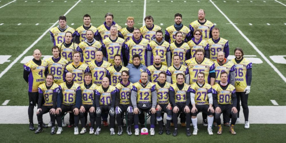 Vikings Superseniors 2016 ©fotobyhofer.at