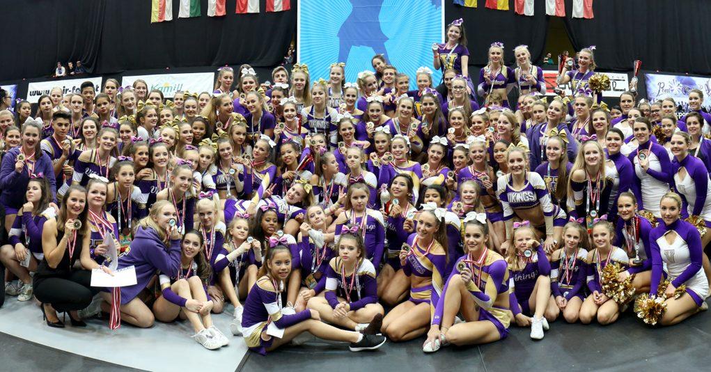Cheer und Dance Teams bei ÖCM 2016