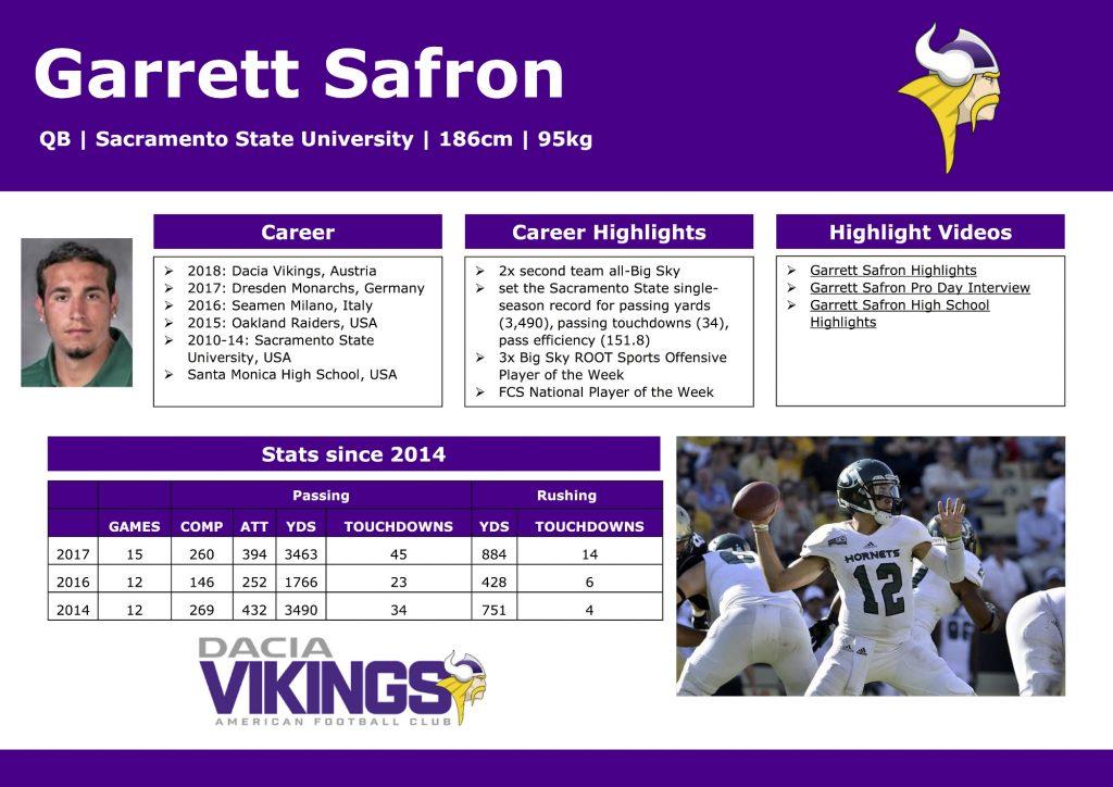 Garrett Safron Facts