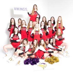 Vikings-Cheerleader bei der WM