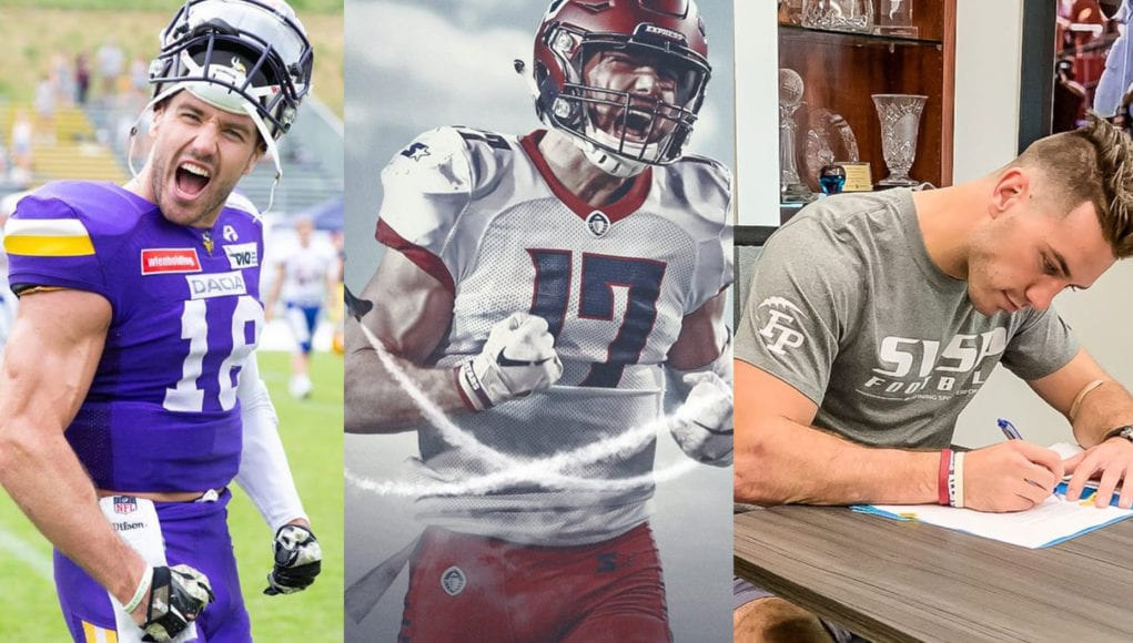 finest selection 6e410 5b951 Von der AFL, über die AAF in die NFL – Ex-Vikings WR Reece ...