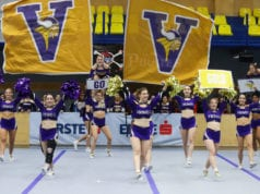 Allstars bei Landesmeisterschaft Cheer