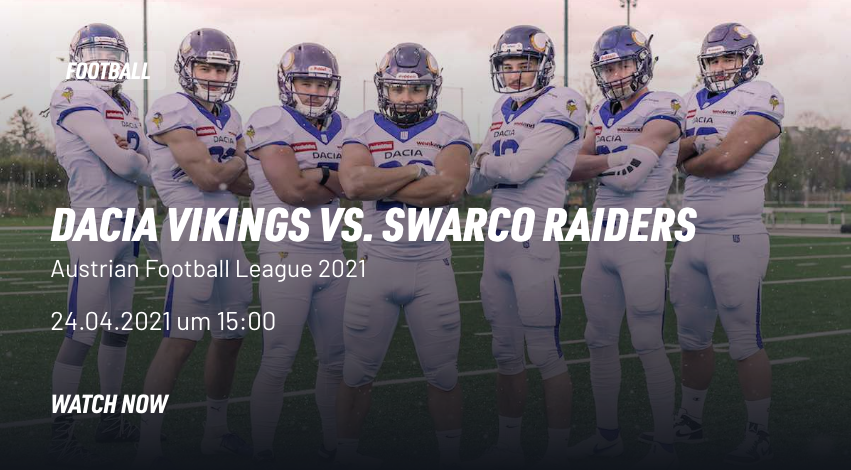 Livestream Vikings vs Raiders